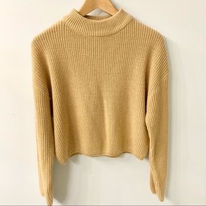 H&M Divided Mock Neck Sweater